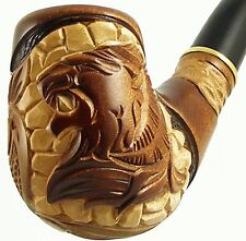 "Carved tobacco smoking pipe *Lion* (Cooling filter) | pipes - 6.1"" (15,5cm)"