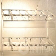 EMPTY OPI Nail Polish Lacquer DISPLAY RACK ONLY. Holds 36 bottles of nail polish