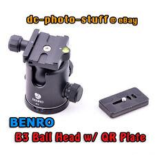 Benro B3 Ball Head With Pu70 Release Plate