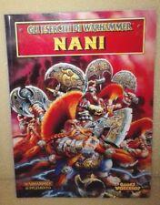 WARHAMMER FANTASY MANUALE NANI SUPPLEMENTO GAMES WORKSHOP CITADEL NUOVO