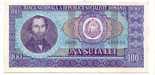 Romania  100 lei 1966    FDS  UNC      Pick 97     lotto 3483
