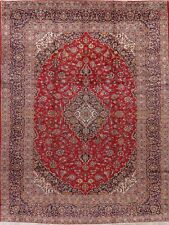 Vintage Medallion Hand-Knotted Ardakan Floral Oriental Traditional Area Rug 9x13