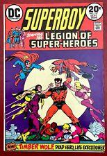 SUPERBOY 197 (9/73 VF+ non-CGC) 20c KEY! 1st LEGION OF SUPER-HEROES! COCKRUM!!