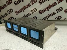 Sony PVM-411 Quad 4 Rack Mount Monitor