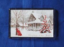 BE HOME FOR CHRISTMAS FRIDGE MAGNET