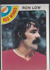 1978-79 TOPPS HOCKEY RON LOW #237 RED WINGS NMMT *54871