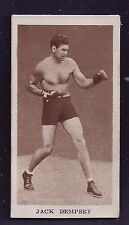 1929 Godrey Phillips #15 Jack Dempsey Sporting Champions (Series of 36) EX Plus