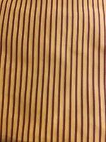 Scalamandre Pin Stripe 100%  Silk Tafetta Fabric One Yard