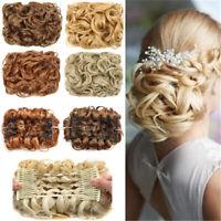 Messy Rose Bun Easy-To-Wear Stylish Hair Scrunchies