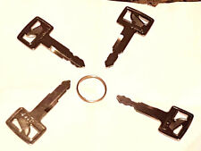 Hitachi Plant Key Set - 4 Keys - H800 H805 H806 H808 - Excavator Keys great buy