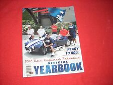 2007 NEW ENGLAND PATRIOTS YEARBOOK NEVER USED