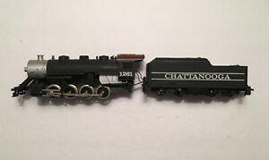 Vintage Ho Scale Tyco Chattanooga 2-8-0 #1261 For Parts or Repair