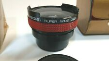 Spectra-Visions Super Wide Panoramic Lens 49mm 55mm Canon Nikon Olympus SLR