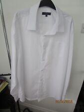 Stylish Tailor & Cutter MEN's 18.5 size Dress Shirt White