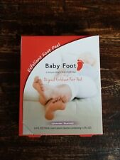 New Baby Foot Original Exfoliant Foot Peel Lavender Scented