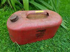 Unipart vintage retro red Petrol Essence Benzin 5 litre petrol can