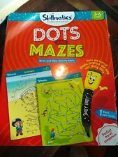 Skillmatics Educational Game: Dots and Mazes (3-6 Years) | Erasable NEW