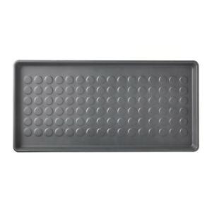2 x IKEA BAGGMUCK Shoe mat, in/outdoor, grey,  Plastic Boot  Tray 71x35 cm PUP10