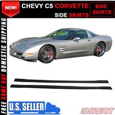 For 97-04 Chevy C5 Corvette Side Skirts Extensions Splitters - PP