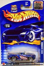 HOT WHEELS 2002 DODGE SIDEWINDER #210 BLUE FACTORY SEALED