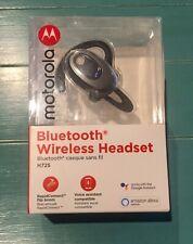 Motorola Bluetooth Mono H725 Headset with Alexa - Black Dual Mic 6hrs/200hr Siri