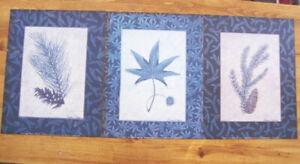 White Pine, Sweet Gum, Blue Spruce Prints Signed Susan Clickner 1998 set of 3