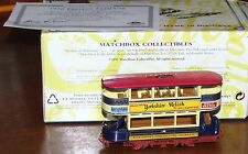 Matchbox 1920 Preston Tram Car  w/certification of authenicity