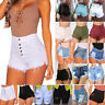 Womens Summer High Waisted Denim Shorts Hot Pants Ripped Casual Sexy Club Jeans