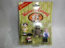 Vintage Aardman  Wallace And Gromit Figures Unopened On Original card , Rare !!!