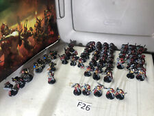 40k rogue trader space marines With Some Grey Knights and others.