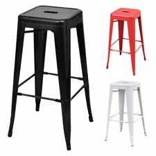 vidaXL 2/4/6x Bar Stools Steel Counter Kitchen Restaurant Chairs Multi Colours