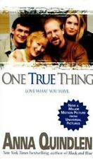 One True Thing by Anna Quindlen (1995, Paperback) (JLX)