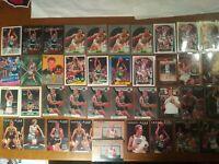 Larry Bird Boston Celtics Card Lot 40 NBA Hoops Topps Mosaic Fleer Donruss /999