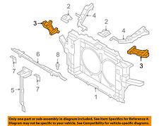 Infiniti OEM 09-13 FX50 Radiator Support-Lamp Bracket Left Side Only 625651CA0A