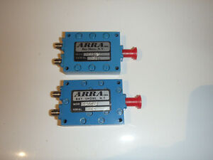 ARRA Power Divider / Splitter SMA connections 20 watt 4.0-8.0GHz