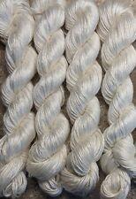 Undyed 70%Bamboo 30% Silk knitting yarn, 400g(14oz), DK weight in 100g per hank