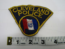OLD VINTAGE CLEVELAND POLICE PATCH SEWING CRAFT