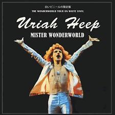 URIAH HEEP - MISTER WONDERWORLD: LIMITED EDITION ON WHITE VINYL