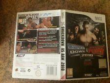 WWE SMACKDOWN VS. RAW 2010 Wii (PAL ESPAÑA)