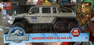 JADA Jurassic World Toys Mercedes-Benz G63 AMG 6x6 1:24 scale die-cast 2021 New