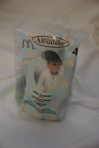 McDonald's Madame Alexander Happy Meal Toy #4 BOY Ring Carrier Doll AA 2003 bag