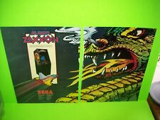 SUPER ZAXXON 2-Page 1982 Magazine Ad For Video Arcade Game NOT A Flyer SEGA