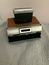 Vintage POLAROID SX-70 Land Camera, Brown Leather, PLEASE READ
