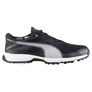 Puma Ignite Drive Sport Golf Shoes 2017 189404 02 Black-White-Gray Violet 8471