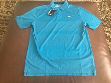 Nike Golf Tour Performance men's blue dri-fit polo shirt, size M ,NWT,MSRP$85