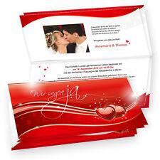 Einladungskarten Hochzeit liebe 20 Karten Einladung mit Umschlag