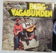 """Franzl Lang """"Berg-Vagabunden"""" Lp ex libris import"""