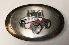 Vintage Agriculture Farm Tractor Equipment Oval Belt Buckle ~ Farmer ~ Farming