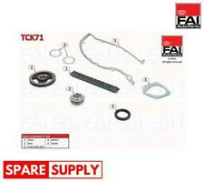 TIMING CHAIN KIT FOR SKODA FAI AUTOPARTS TCK71