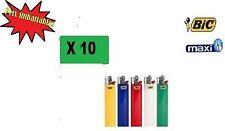 Lot de 10 Briquets MAXI BIC !!! PRIX IMBATTABLE !!!